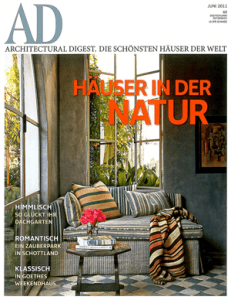 Architectural Digest Germany, July 2011