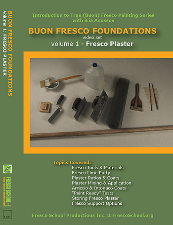 Fresco Plaster - Buon Fresco Painting Foundations, Vol. 1 by iLia Fresco (Anossov)