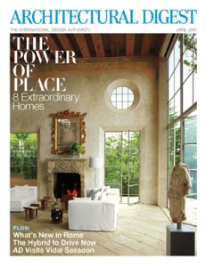 Architectural Digest, April 2011
