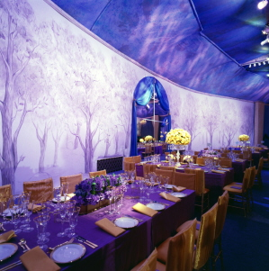 Orchid Backdrop by iLia Fresco - 76th Academy Awards (R) Governors Ball