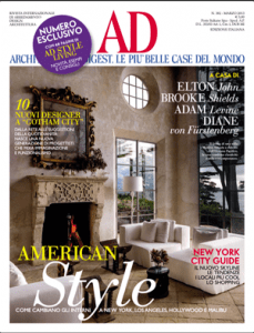 Architectural Digest Italy, March 2013