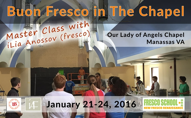 Master Class: Buon Fresco in The Chapel with iLia Anossov (fresco)