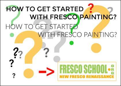 This guide will help you to get started with fresco painting in a fast and easy way