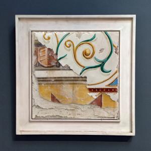 Multi Layer Fresco 003 - Buon Fresco - 16X16 on ceramic tile, renaissance collection, by iLia Fresco 2013