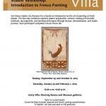 iLia Fresco Workshop Getty Flyer