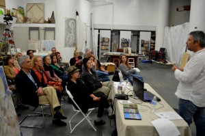 Fresco Painting Lecture at the Fresco School