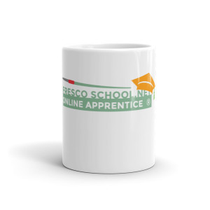 Fresco School OnLine Apprentice Logo Mug