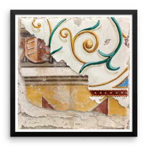 Multi Layer Fresco 003 FRAMED print, buon fresco, 16X16, by iLia Anossov, 2013