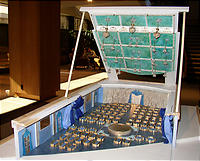 Kodak Theater Ballroom Model for 76th Academy Awards (R) Governors Ball